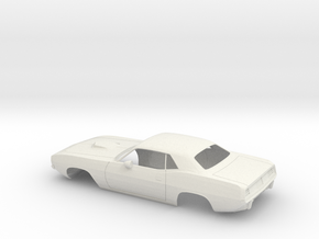 1/8 1971 Plymouth Baracuda in White Natural Versatile Plastic