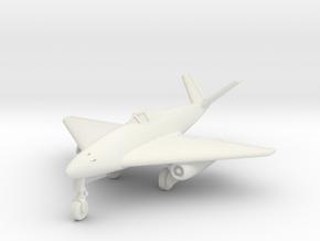 (1:144) Messerschmitt Me 262 V-tail Delta in White Natural Versatile Plastic