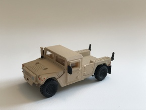 M1152 Humvee Armor in Smooth Fine Detail Plastic