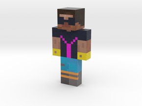 YouTownsPerson | Minecraft toy in Natural Full Color Sandstone