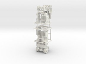 1/87 1968 IH/FTI Engine in White Natural Versatile Plastic