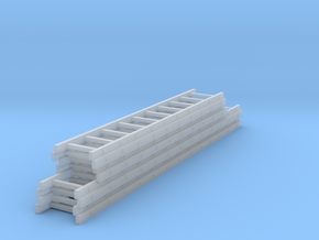 1/87 Stacked ladder load in Smooth Fine Detail Plastic
