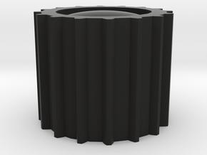 Megatron Fusion Cannon End Piece in Black Natural Versatile Plastic