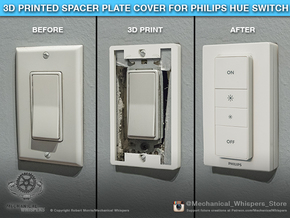 Philips Switch Decora Plate (Set of 10 Discounted) in White Natural Versatile Plastic