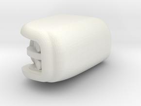 1/24 scale Peterbilt 389  Light LH in White Natural Versatile Plastic
