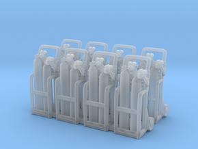 Oxy acetylene welder 01. 1:72 Scale  in Smooth Fine Detail Plastic