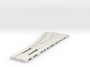 p-14st-left-point-100-1a in White Natural Versatile Plastic
