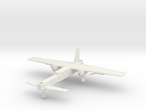 (1:144) Focke-Wulf Fw 42 (Gear down) in White Natural Versatile Plastic