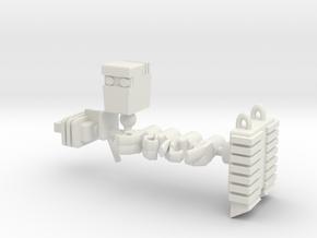 Rom Spaceknight for Pharoid in White Natural Versatile Plastic