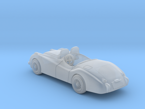 Jaguar XK 120  1950  1:120 TT in Smooth Fine Detail Plastic