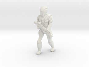 Sith Trooper with Repeater in White Natural Versatile Plastic