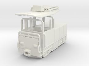 Wengernalpbahn WAB he 2/2 31 32 h0e  in White Natural Versatile Plastic
