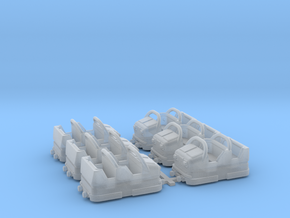 Zyklon6pack in Smooth Fine Detail Plastic
