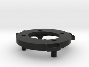 Retrofit Adaptor (Drivers Side) in Black Natural Versatile Plastic