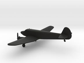 Yakovlev Yak-6 in Black Natural Versatile Plastic: 1:160 - N
