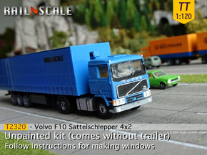 Volvo F10 4x2 Sattelschlepper (TT 1:120) in Smooth Fine Detail Plastic
