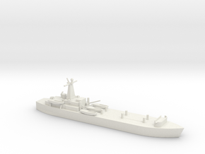1/700 Scale British LST-3 in White Natural Versatile Plastic