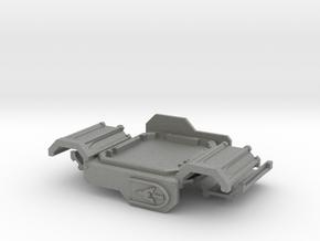 Rhinoceros mk2 Armor Plate Gothic ptrn. (Door) in Gray PA12