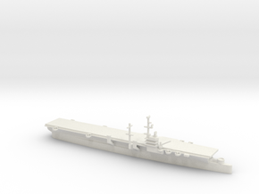 1/1250 Scale USS Bataan CVL 29 1953 in White Natural Versatile Plastic