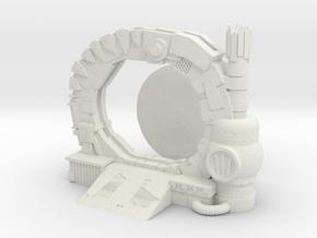 Space Orks Portal Terrain  in White Natural Versatile Plastic