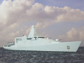 Holland Class OPV in White Natural Versatile Plastic: 1:700
