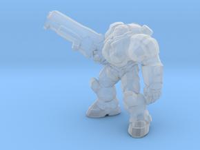 Starcraft Marine Rifle Up 1/60 miniature games in Smooth Fine Detail Plastic