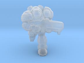 Starcraft Marine Running 1/60 miniature games rpg in Smooth Fine Detail Plastic