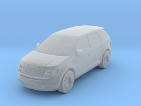 2008 Ford Edge 1-87 HO Scale in Smooth Fine Detail Plastic