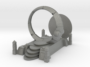 Deathbot Space Portal Terrain  in Gray PA12