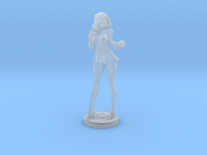 Sandra Claus w/ snowball mini in Smooth Fine Detail Plastic: Extra Small