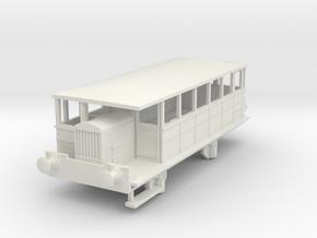 0-87-spurn-head-hudswell-clarke-railcar in White Natural Versatile Plastic