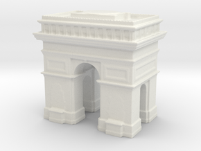 Arc de Triomphe 1/720 in White Natural Versatile Plastic