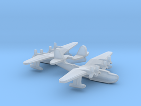 Russian Tupolev MTB-2 Flying Boat (x2) in Smooth Fine Detail Plastic