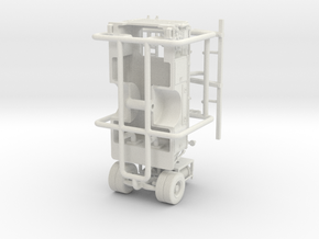1/87 1965 IH/CENTRAL ENGINE BODY in White Natural Versatile Plastic