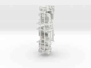 1/87 1965 IH/CENTRAL SQURT ENGINE in White Natural Versatile Plastic