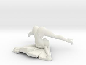 Aimsee Bad Landing 2.5'' Versatile Plastic in White Natural Versatile Plastic