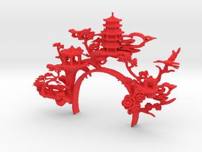 orient_headpeice in Red Processed Versatile Plastic