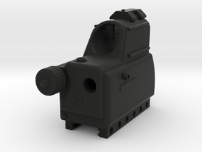 MARS Multi-Purpose Reflex Sight for Nerf Rival in Black Natural Versatile Plastic