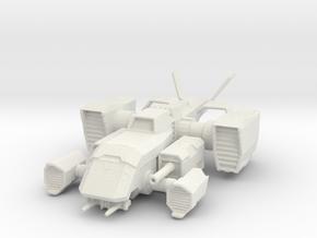 Astorech Dropship in White Natural Versatile Plastic