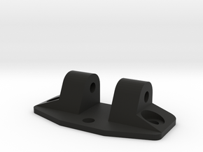 UTA003 Trailing Arm rear Flange in Black Natural Versatile Plastic