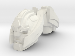 Macro Head for PotP Jazz (4mm) in White Natural Versatile Plastic