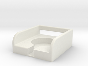 Apple Watch Charging Mount in White Natural Versatile Plastic