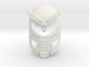 Mask of Power in White Natural Versatile Plastic