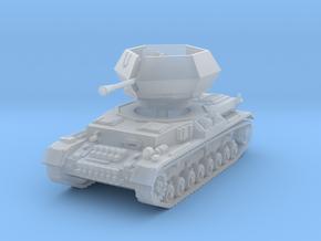 Flakpanzer IV J Ostwind 1/56 in Smooth Fine Detail Plastic