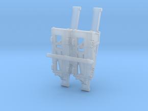 Orbiter9 Luggage Belt 11mm@1/400 rev2 in Smoothest Fine Detail Plastic: 1:200