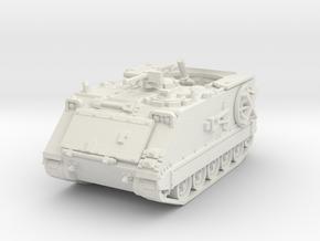 M106 A1 Mortar (open) 1/76 in White Natural Versatile Plastic