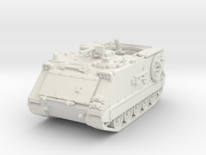 M106 A1 Mortar (open) 1/72 in White Natural Versatile Plastic