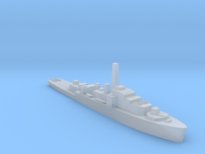 HMS Loch class 1:2400 WW2 frigate in Smoothest Fine Detail Plastic