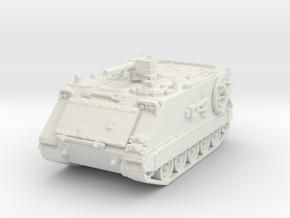 M106 A1 Mortar (closed) 1/87 in White Natural Versatile Plastic