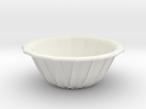 [1DAY_1CAD] BOWL in White Premium Versatile Plastic
